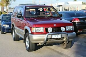 1997 Holden Jackaroo UBS II SE Burgundy & Silver 4 Speed Automatic Wagon Heatherton Kingston Area Preview