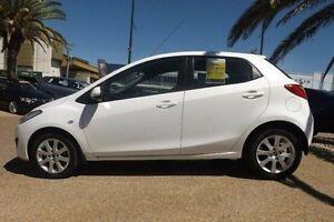 2014 Mazda 2 DE10Y2 MY14 Neo Sport White 4 Speed Automatic Hatchback Rockhampton Rockhampton City Preview