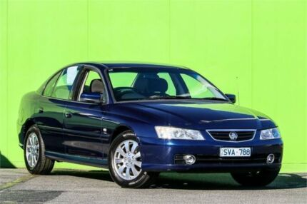 2004 Holden Berlina VY II Blue 4 Speed Automatic Sedan