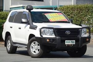 2014 Toyota Landcruiser VDJ200R MY13 GX White 6 Speed Sports Automatic Wagon Acacia Ridge Brisbane South West Preview