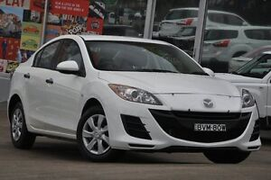 2010 Mazda 3 BL 10 Upgrade Neo White 5 Speed Automatic Hatchback Dee Why Manly Area Preview