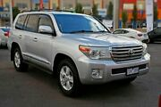 2012 Toyota Landcruiser UZJ200R MY10 Sahara Silver Pearl 5 Speed Sports Automatic Wagon Mill Park Whittlesea Area Preview