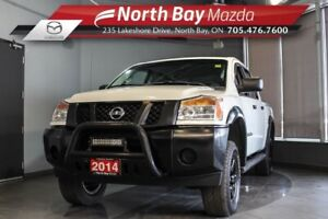 2014 Nissan Titan S 4X4 with Cruise Control, New Tires!