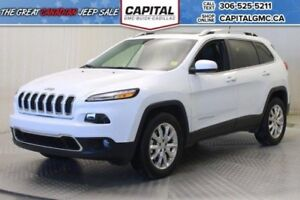 2017 Jeep Cherokee Limited 4WD*Leather*Sunroof*