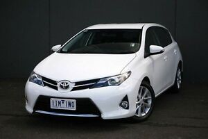 2014 Toyota Corolla ZRE182R Ascent Sport S-CVT White 7 Speed Constant Variable Hatchback Cranbourne Casey Area Preview