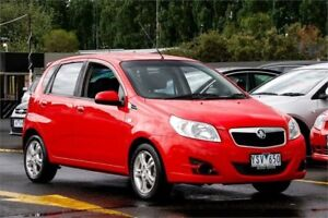 2010 Holden Barina TK MY11 Red 4 Speed Automatic Hatchback Ringwood East Maroondah Area Preview