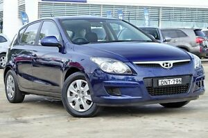 2012 Hyundai i30 FD MY11 SX Blue 4 Speed Sports Automatic Hatchback Baulkham Hills The Hills District Preview