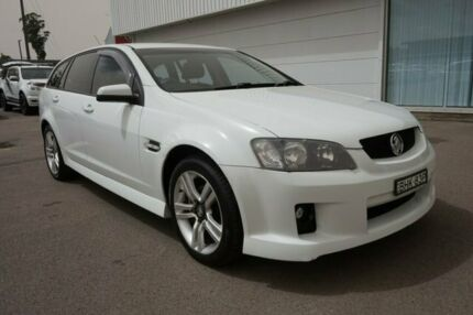 2008 Holden Commodore VE SV6 White 5 Speed Sports Automatic Sedan Cardiff Lake Macquarie Area Preview