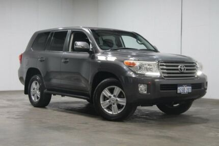 2012 Toyota Landcruiser URJ202R MY12 VX Graphite 6 Speed Sports Automatic Wagon Welshpool Canning Area Preview