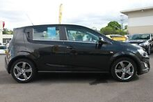 2015 Holden Barina TM MY15 RS Black 6 Speed Sports Automatic Hatchback Wilston Brisbane North West Preview