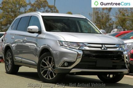 2017 Mitsubishi Outlander ZK MY17 LS 2WD Cool Silver 6 Speed Constant Variable Wagon Myaree Melville Area Preview