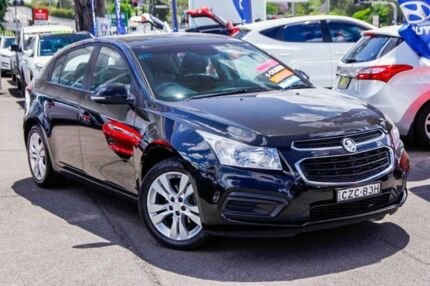 2015 Holden Cruze JH Series II MY15 Equipe Black 6 Speed Sports Automatic Hatchback