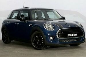 2016 Mini Hatch F55 Cooper Deep Blue Metallic 6 Speed Automatic Hatchback Alexandria Inner Sydney Preview