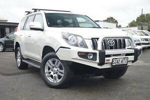 2012 Toyota Landcruiser Prado KDJ150R VX White 5 Speed Sports Automatic Wagon Hillcrest Port Adelaide Area Preview