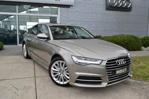 2016 Audi A6 4G MY16 S Line S tronic quattro Beige 7 Speed Sports Automatic Dual Clutch Sedan Burwood Whitehorse Area Preview