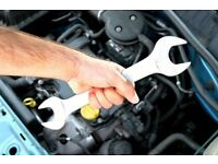 Car mechanic is required to work for a garage