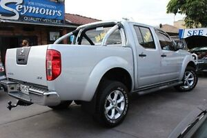 2012 Nissan Navara D40 MY12 ST-X (4x4) Silver 7 Speed Automatic Dual Cab Pick-up Hamilton Newcastle Area Preview