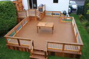 Deck Installations, Repairs, Replacements -Reduced Price