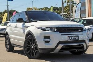 2015 Land Rover Range Rover Evoque L538 MY15 SD4 Dynamic White 9 Speed Sports Automatic Wagon Myaree Melville Area Preview