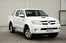 2008 Toyota Hilux  White Manual Utility Cranbourne Casey Area Preview