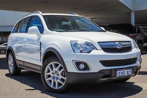 2013 Holden Captiva CG MY13 5 AWD LT White 6 Speed Sports Automatic Wagon Osborne Park Stirling Area Preview