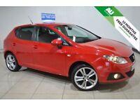 SEAT IBIZA 1.6 SPORT CR TDI 5d 103 BHP (red) 2010