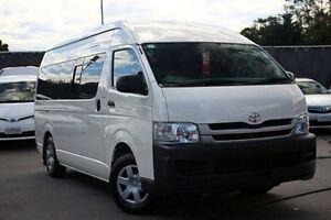 2010 Toyota Hiace KDH221R MY10 Super LWB White 4 Speed Automatic Van Seaford Frankston Area Preview