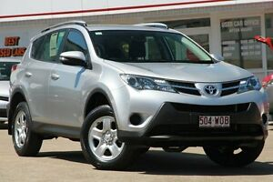 2015 Toyota RAV4 ASA44R MY14 GX AWD Metallic Silver 6 Speed Sports Automatic Wagon Woolloongabba Brisbane South West Preview