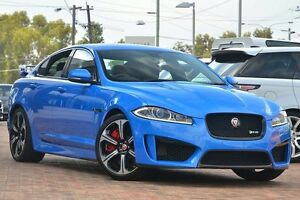 2014 Jaguar XF X250 MY14 XFR-S Blue 8 Speed Sports Automatic Sedan Osborne Park Stirling Area Preview