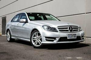 2012 Mercedes-Benz C200 W204 MY12 BlueEFFICIENCY 7G-Tronic + Elegance Silver 7 Speed Maddington Gosnells Area Preview