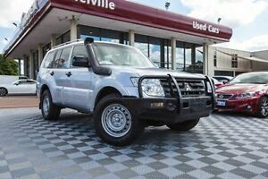 2012 Mitsubishi Pajero NW MY12 GL Silver 5 Speed Sports Automatic Wagon Alfred Cove Melville Area Preview