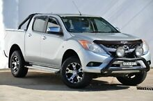 2011 Mazda BT-50 UP0YF1 GT Silver 6 Speed Sports Automatic Utility Blacktown Blacktown Area Preview