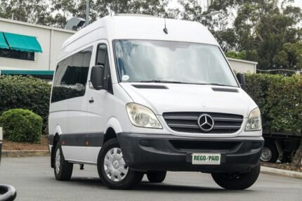 2009 Mercedes-Benz Sprinter NCV3 MY09 Transfer Low Roof White 5 Speed Automatic Bus