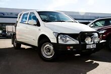 2011 Ssangyong Actyon Sports 100 Series MY11 Tradie White 5 Speed Manual Utility Osborne Park Stirling Area Preview