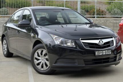 2010 Holden Cruze JG CD Black 5 Speed Manual Sedan Lisarow Gosford Area Preview