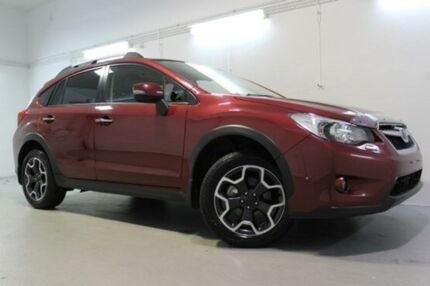 2014 Subaru XV  Red Constant Variable Wagon Devonport Devonport Area Preview