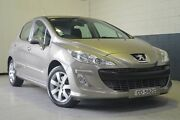 2010 Peugeot 308 T7 XSE Turbo Bronze 4 Speed Sports Automatic Hatchback Hillcrest Port Adelaide Area Preview
