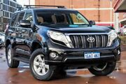 2016 Toyota Landcruiser Prado GDJ150R GXL Black 6 Speed Sports Automatic Wagon Fremantle Fremantle Area Preview