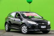 2012 Ford Focus LW MKII Ambiente PwrShift Black 6 Speed Sports Automatic Dual Clutch Hatchback Ringwood East Maroondah Area Preview