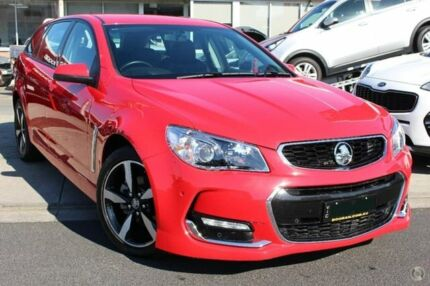 2017 Holden Commodore VF II MY17 SV6 Sportwagon Red 6 Speed Sports Automatic Wagon Cheltenham Kingston Area Preview