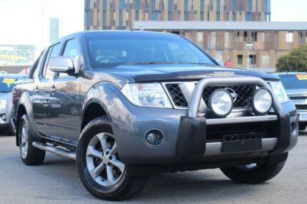 2014 Nissan Navara D40 S7 Titanium Grey 5 Speed Sports Automatic Utility