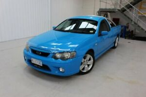 2005 Ford Falcon BF XR6 Ute Super Cab Blue 4 Speed Sports Automatic Utility