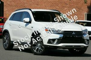 2018 Mitsubishi ASX XC MY19 LS 2WD White 1 Speed Constant Variable Wagon