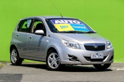 2011 Holden Barina TK MY11 Silver 4 Speed Automatic Hatchback Ringwood East Maroondah Area Preview