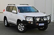 2012 Toyota Landcruiser Prado KDJ150R GXL White 5 Speed Sports Automatic Wagon Hillman Rockingham Area Preview