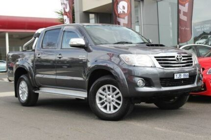 2012 Toyota Hilux  Grey Automatic Utility Watsonia North Banyule Area Preview