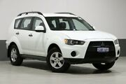 2011 Mitsubishi Outlander ZH MY11 LS (FWD) White 6 Speed CVT Auto Sequential Wagon Bentley Canning Area Preview