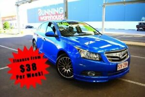 2010 Holden Cruze JH Series II CD Sedan 4dr Man 6sp 1.8i Blue Manual Sedan South Toowoomba Toowoomba City Preview