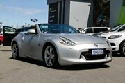 2010 Nissan 370Z Z34 Silver 7 Speed Sports Automatic Roadster Myaree Melville Area Preview