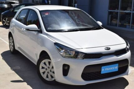 2017 Kia Rio YB MY17 S White 4 Speed Sports Automatic Hatchback Hoppers Crossing Wyndham Area Preview